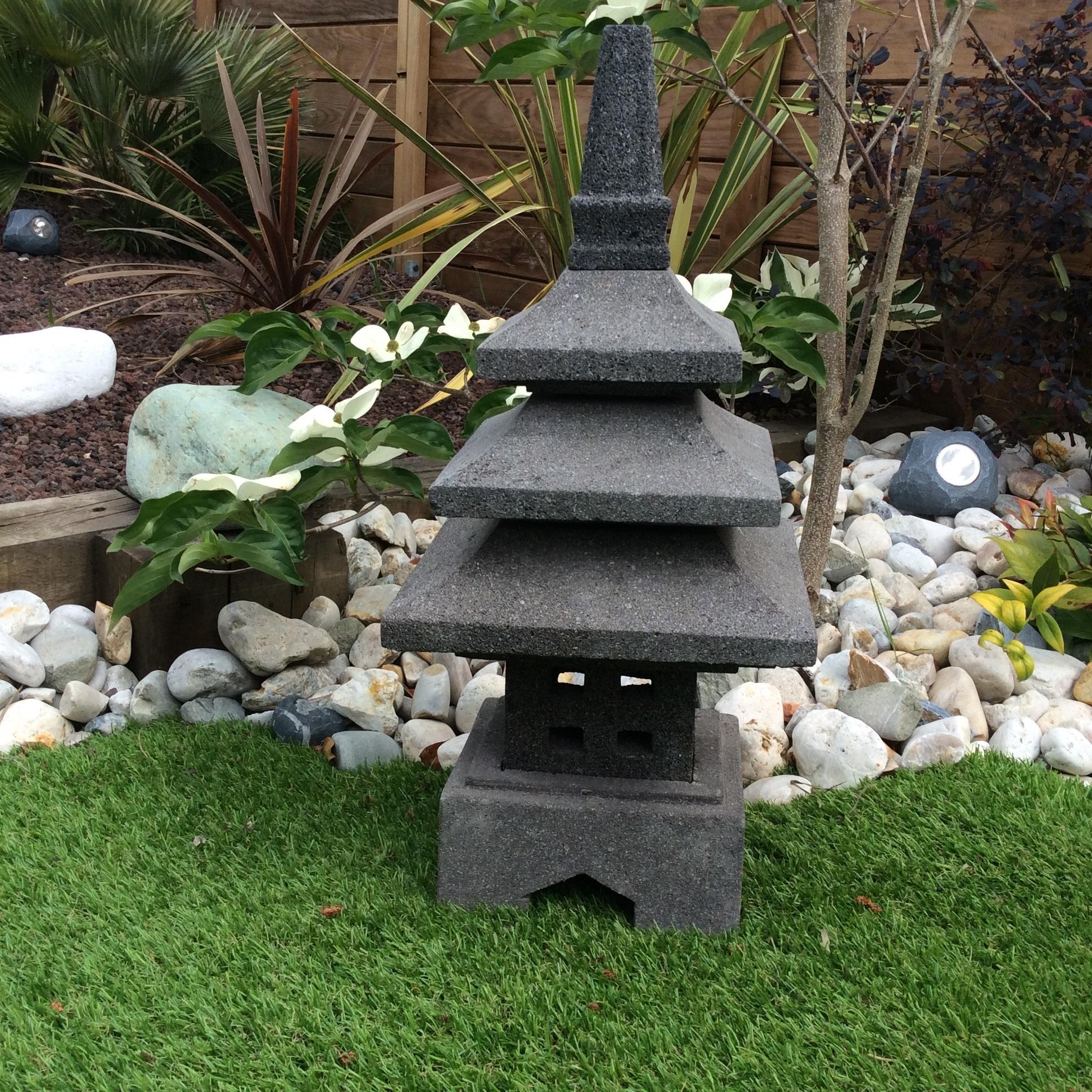 Lanterne Japonaise Jardin Zen Conception - Idees Conception ... avec Lanterne Pierre Jardin Japonais