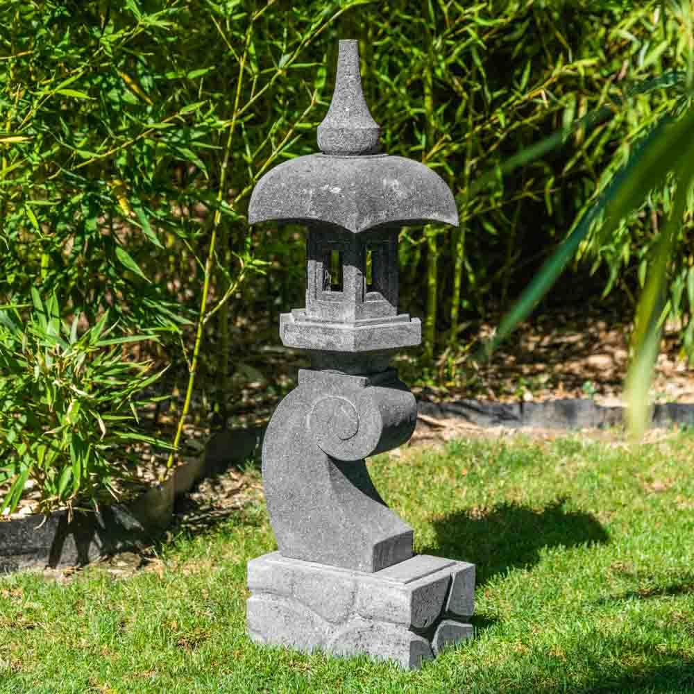 Lanterne Japonaise Jardin Zen Conception - Idees Conception ... dedans Lanterne Japonaise Jardin