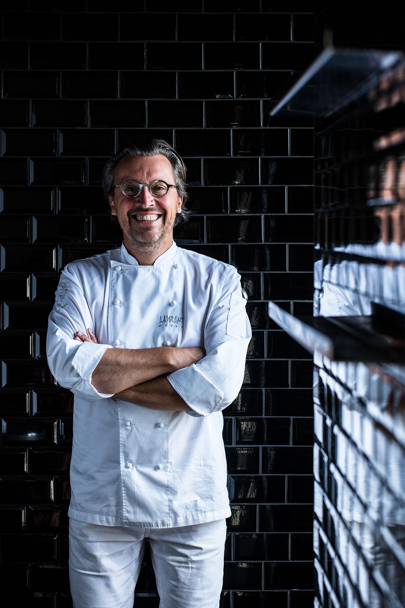 Laurent Petit Chef 3 Etoiles Guide Michelin Clos Des Sens ... encequiconcerne Les Jardins Du Château Annecy