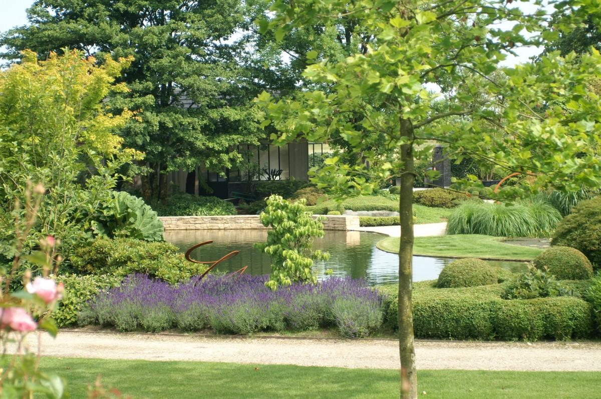 Lavande, Pland'eau Et Chemin En Dolomie - Les Jardins Idée-Ô à Dolomie Jardin