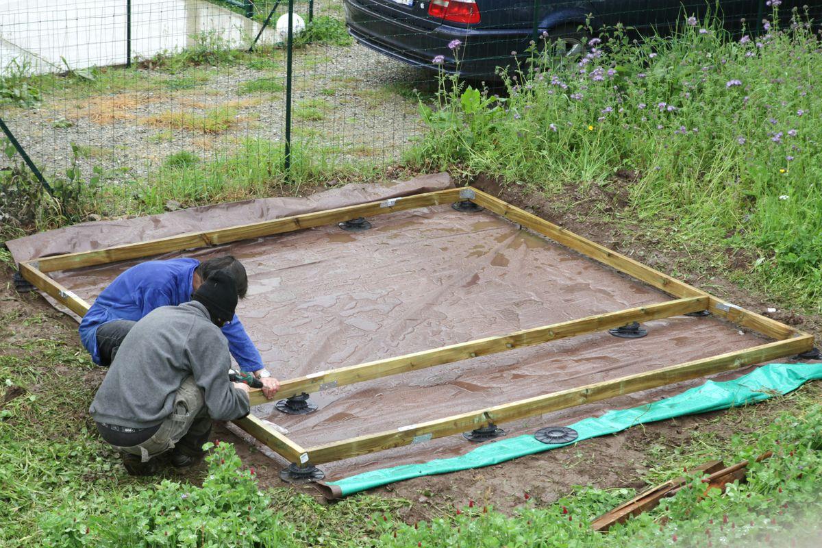 Le Blog De Fifi Et Doudou - Page 1019 serapportantà Faire Un Plancher Pour Abri De Jardin