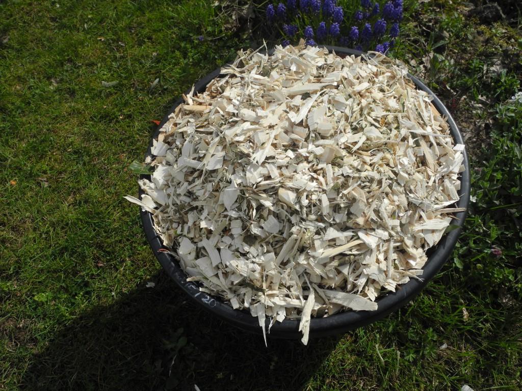 Le Bois Raméal Fragmenté, Un Ancien Matériau Tourné Vers L ... serapportantà Copeaux De Bois Pour Jardin