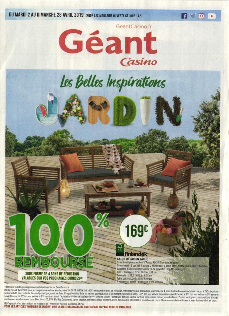 Le Bon Plan Geant Casino - L'annuaire Hoodspot à Geant Casino Salon De Jardin