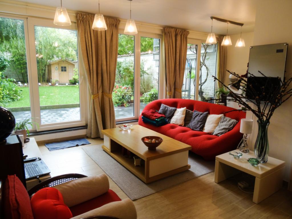 Le Divan Rouge Jardín Expo 90M², Apartamento Brussels à Divan De Jardin