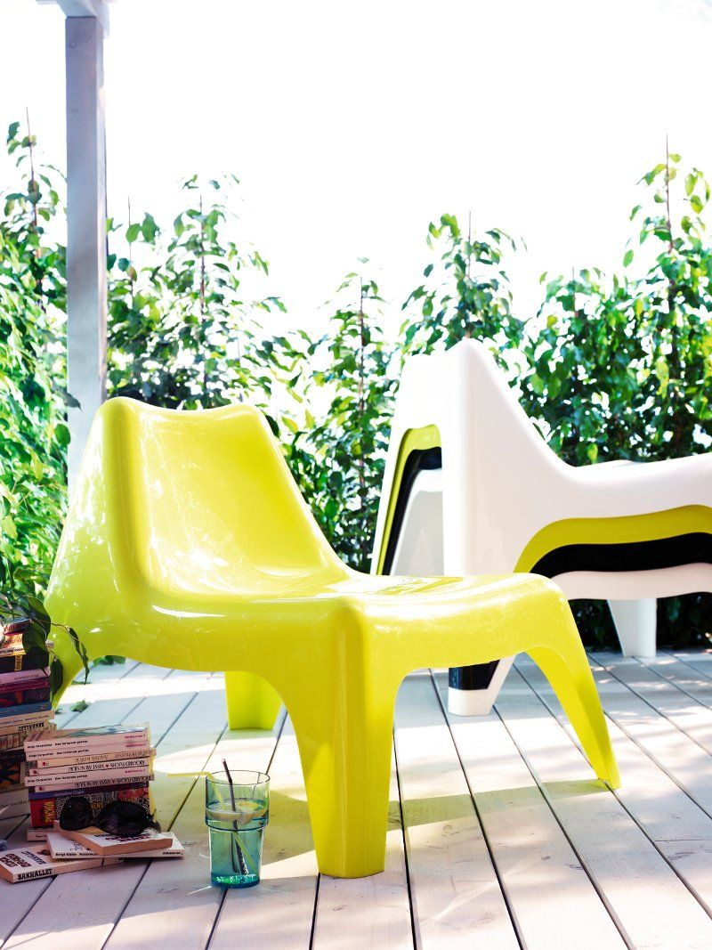 Le Fauteuil Ikea Ps Vagö Est De Retour | Mobilier De Jardin ... tout Siege Jardin Ikea