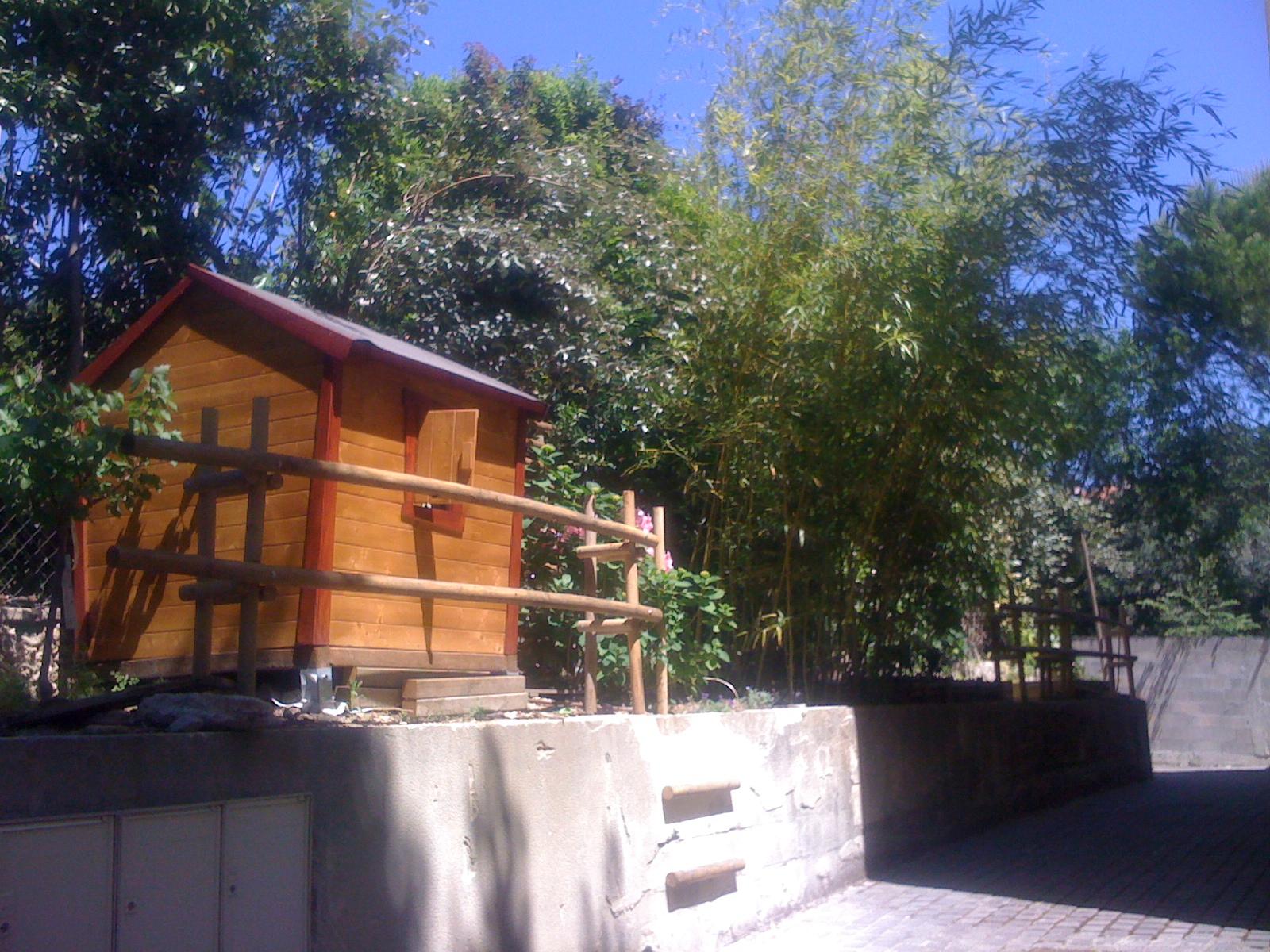 Le Jardin Cabane De Carla - Communauté Leroy Merlin serapportantà Chalet De Jardin Leroy Merlin