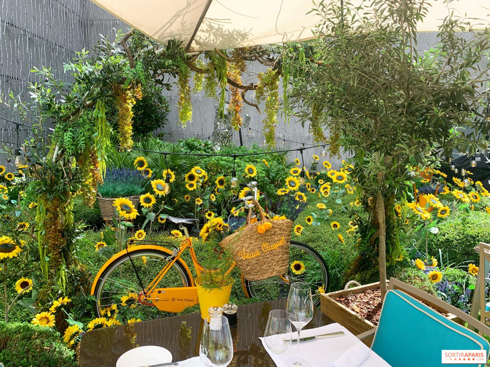Le Jardin De Joy, La Terrasse Éphémère Bucolique Et ... destiné Petite Barriere Jardin
