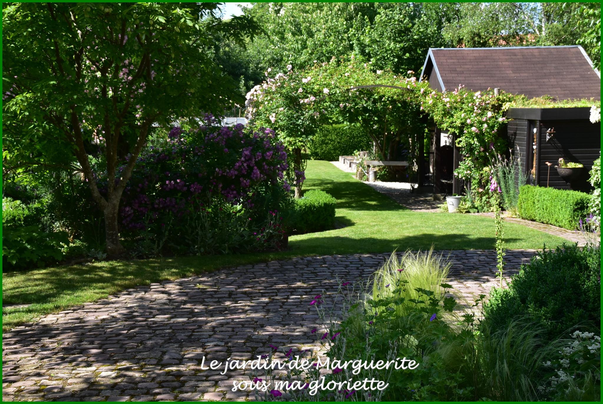 Le Jardin De Marguerite (67 115 ) Plobsheim - Sous Ma Gloriette encequiconcerne Delimitation Jardin