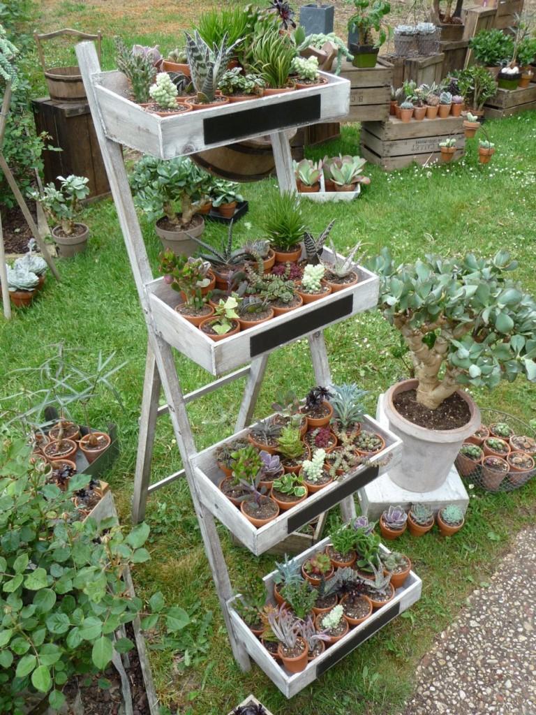 Le Jardin Des Truculentes » Paris Côté Jardin concernant Etageres Jardin Pour Plantes
