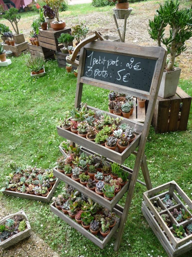 Le Jardin Des Truculentes » Paris Côté Jardin destiné Etageres Jardin Pour Plantes