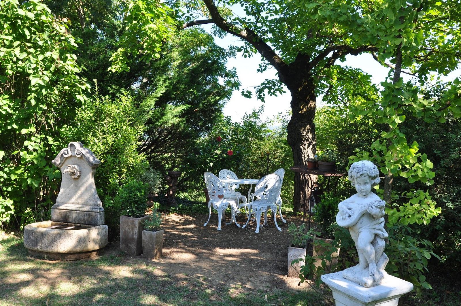 Le Jardin Du Bois-Joli: Novembre 2015 tout Statues De Jardin Occasion