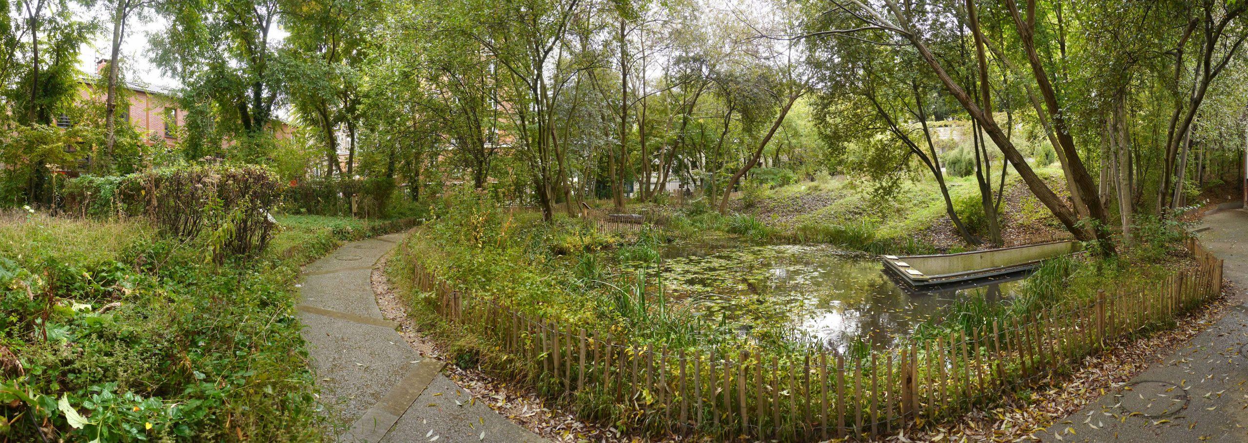 Le Jardin Naturel Pierre-Emmanuel : Un Espace Écologique ... serapportantà Idée De Génie Jardin