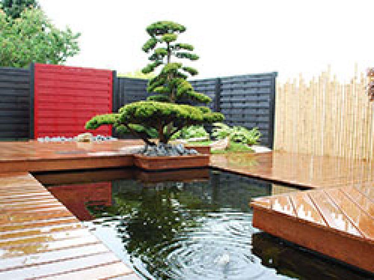Le Jardin Zen - Paysagiste De Nantes À Vannes encequiconcerne Créer Un Mini Jardin Japonais