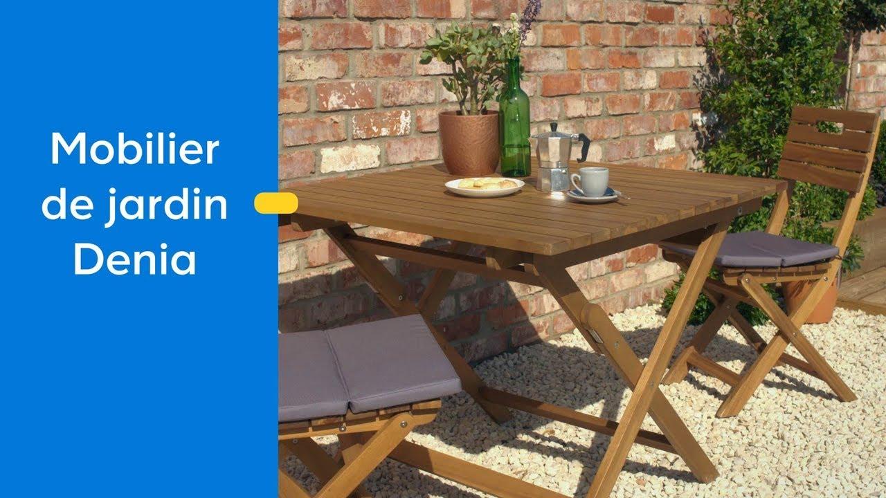 Le Mobilier De Jardin Denia | Castorama à Chaises De Jardin Castorama