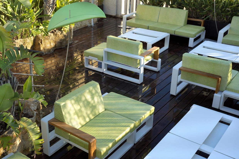 Le Mobilier De Jardin Vert Anis pour Salon De Jardin Vert Anis