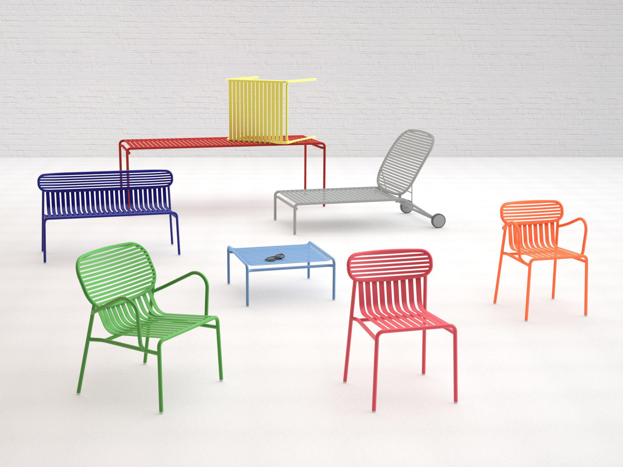 Le Mobilier De Jardin Week-End By Oxyo - Joli Place avec Salon De Jardin Métal Coloré