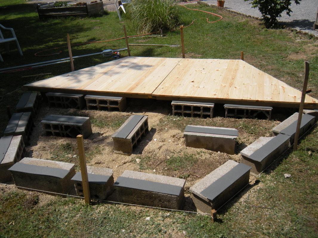 Le Montage - Gardenkota avec Plancher Pour Abri De Jardin