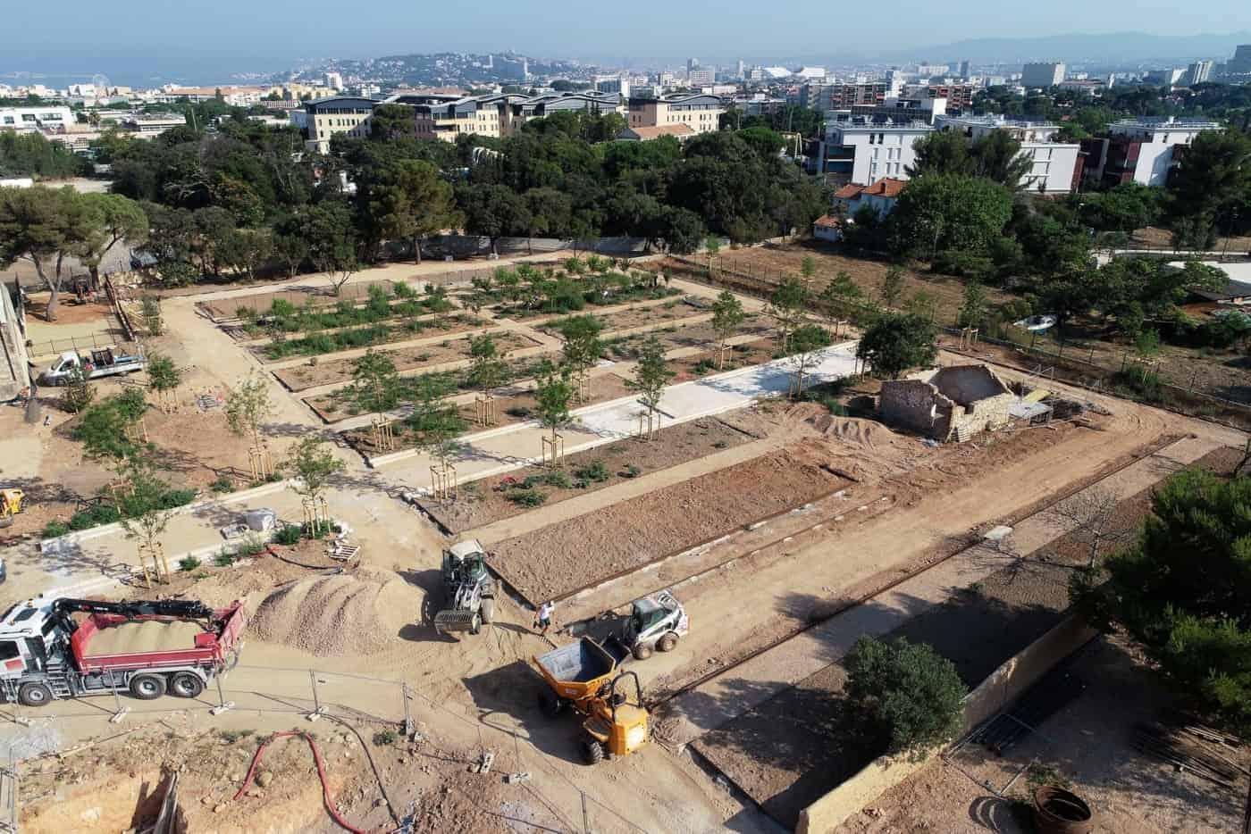 Le Parc De La Jarre, Un Nouveau Jardin Public Au Sud De ... dedans Jarre De Jardin