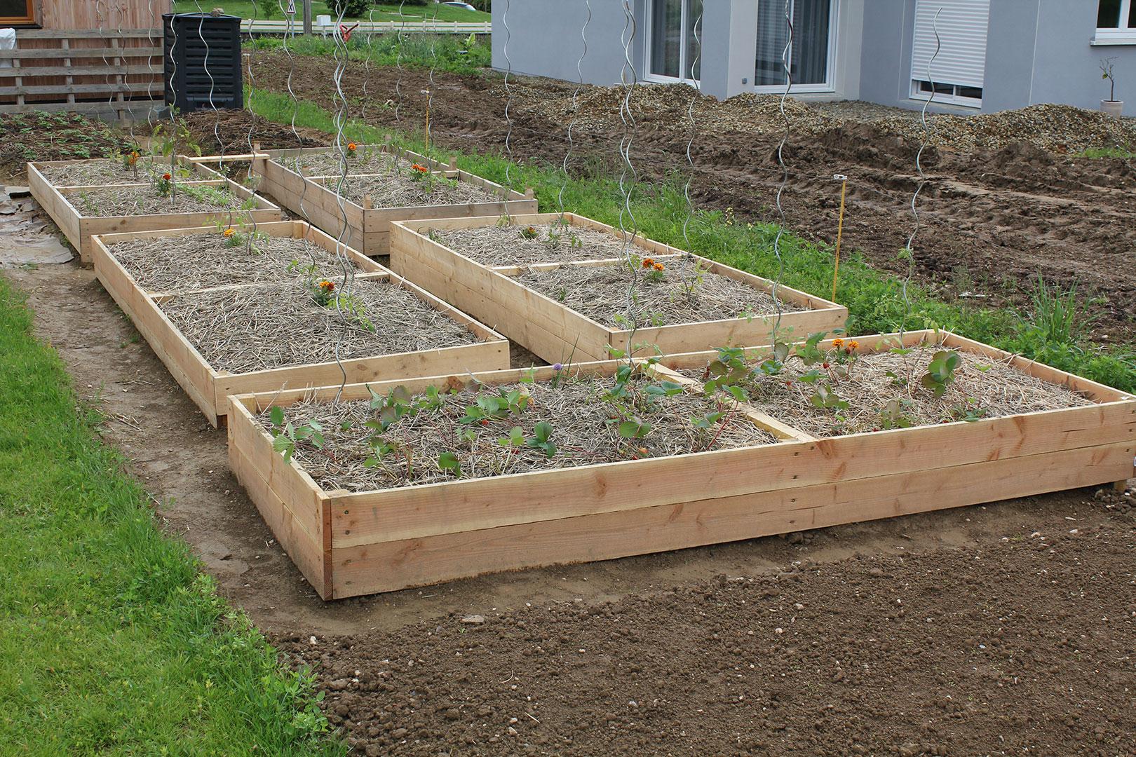 Le Potager Selon La Méthode Du Jardin Naturel | La Triskeline tout Bac En Bois Pour Jardin