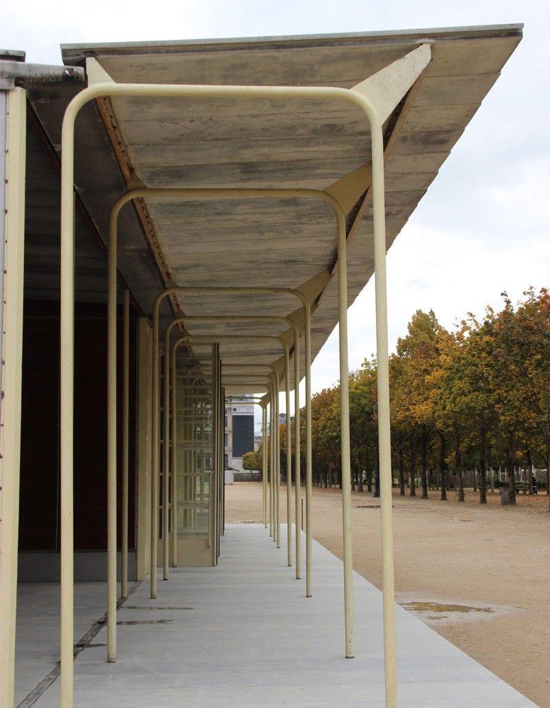 L'école De Bouqueval De Jean Prouvé Au Jardin Des Tuileries ... dedans Cabane De Jardin Occasion