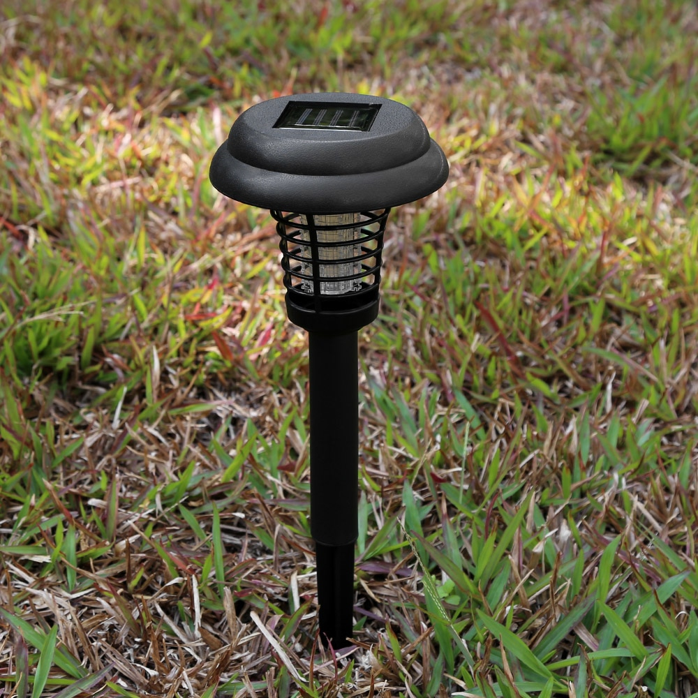 Led À Alimentation Solaire Extérieur Cour Jardin Pelouse Lumière Étanche  Anti Moustique Insecte Ravageur Bug Zapper Tueur Piégeage Lampe À Led à Anti Moustique Jardin