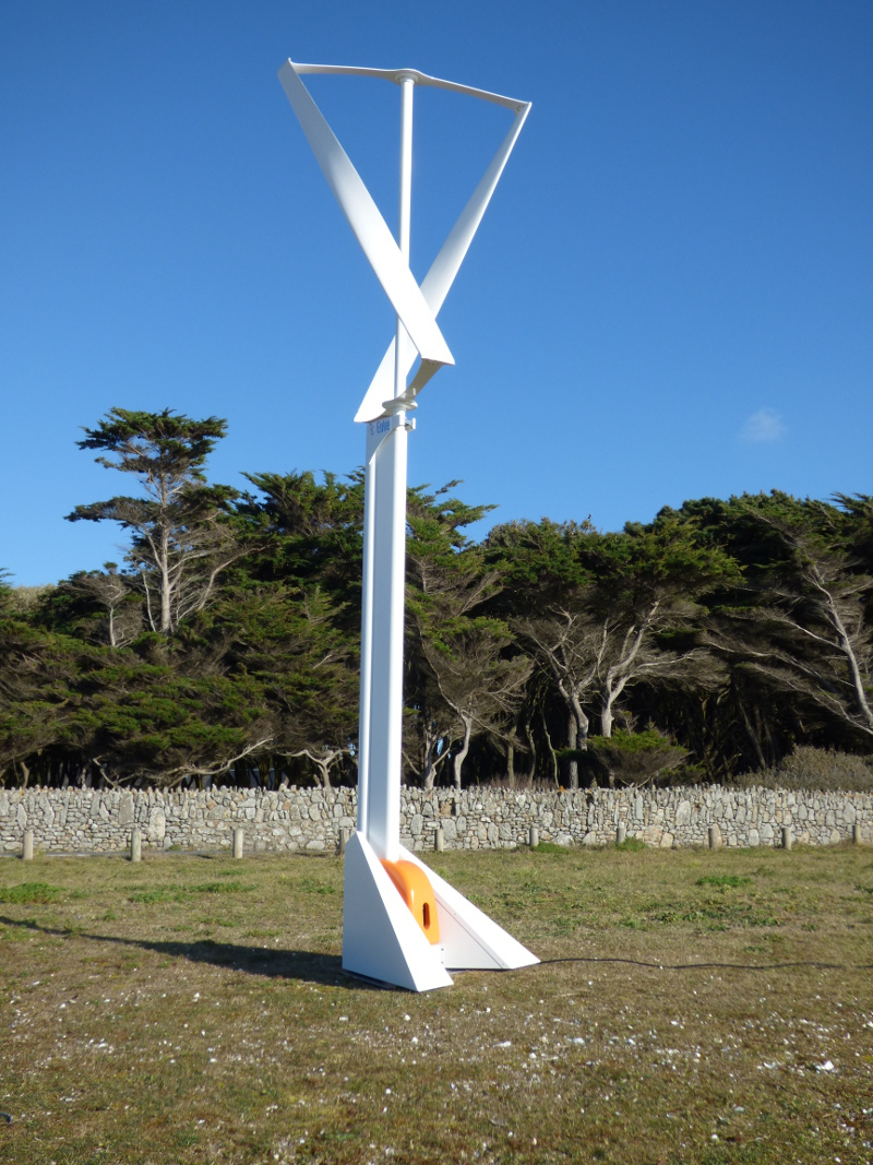 L'éolie500 – Eolie – Espace Actu Et pour Petite Éolienne De Jardin