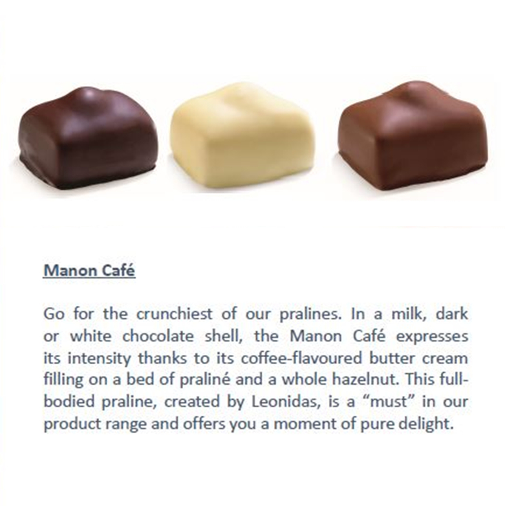 Leonidas Chocolates Signature Chocolate. | Belgian Chocolate ... avec Pralin Jardin