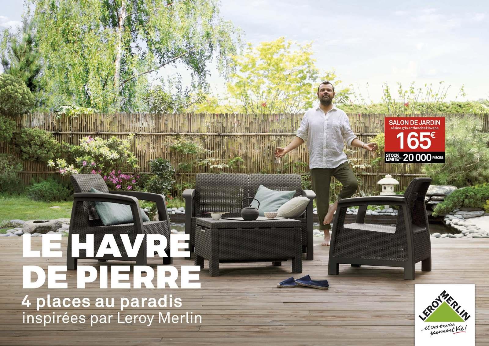 Leroy Merlin - Kamel Et Romain destiné Salon De Jardin Leroy Merlin Resine