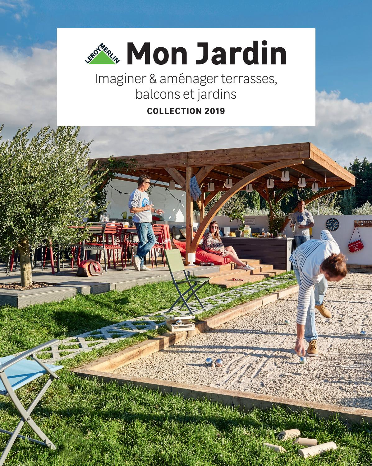Leroy Merlin Reunion) Guide Jardin 2019 By ... à Salon De Jardin Fer Forgé Leroy Merlin