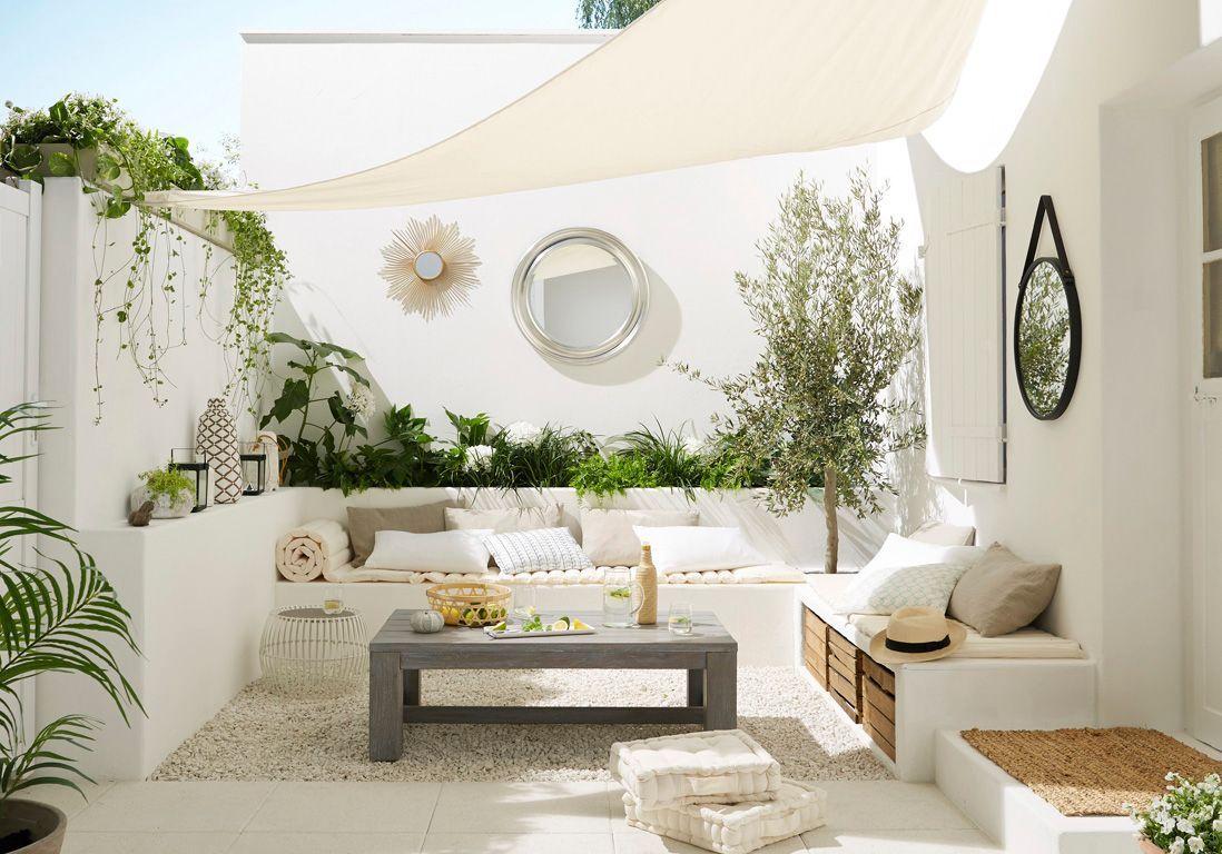 Les 8 Idées À Piquer À Cette Terrasse - Elle Décoration destiné Decoration Minerale Jardin
