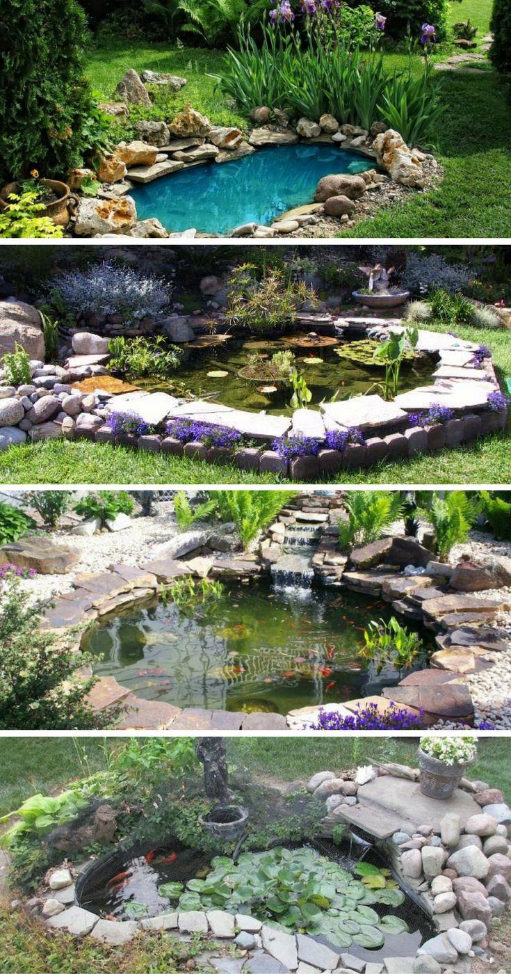 Les Bassins De Jardin Idées Les Plus De L'incroyable Et ... intérieur Kit Bassin De Jardin