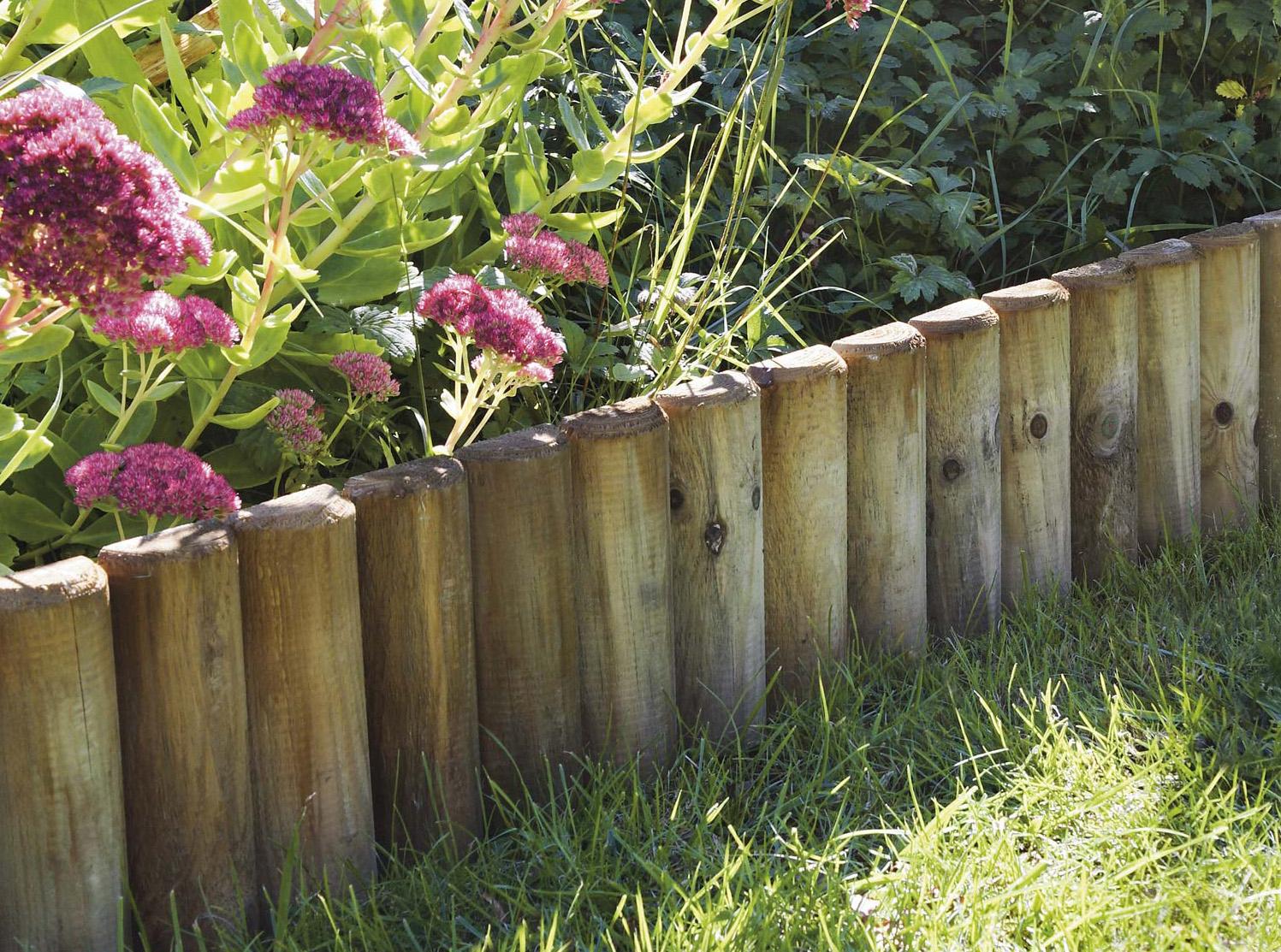 Les Bordures › Comptoir Des Bois concernant Bordures Jardin Pas Cher