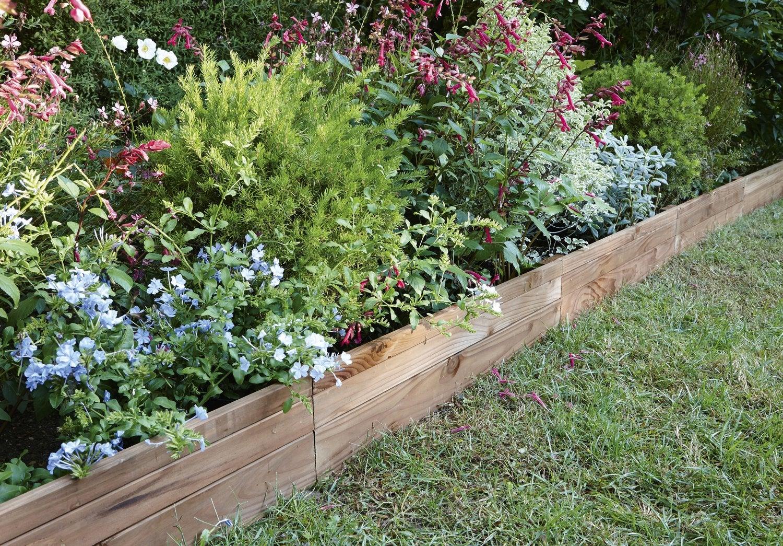 Les Bordures Dessinent Votre Jardin | Leroy Merlin concernant Bordure De Jardin Plastique Leroy Merlin