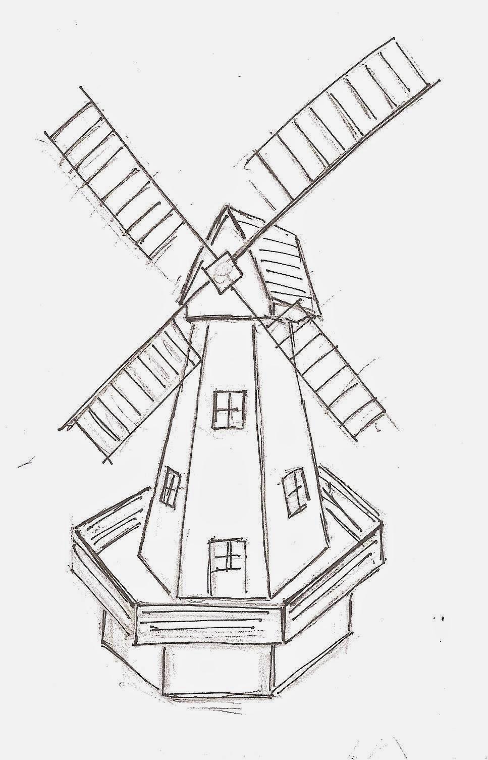 Les Bricodossiers De Papy: Un Moulin De Jardin concernant Construire Un Moulin A Vent De Jardin