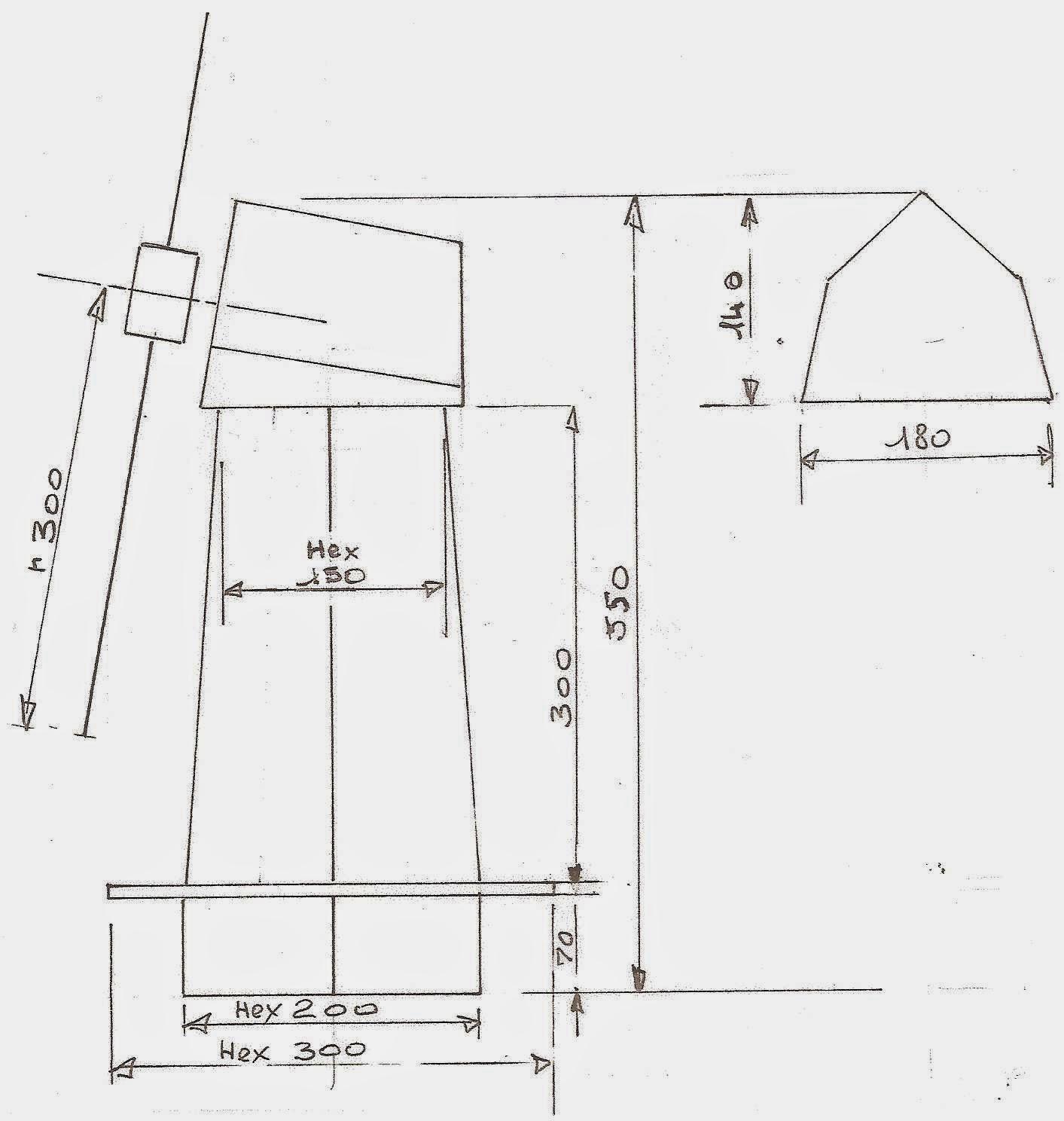 Les Bricodossiers De Papy: Un Moulin De Jardin tout Construire Un Moulin A Vent De Jardin