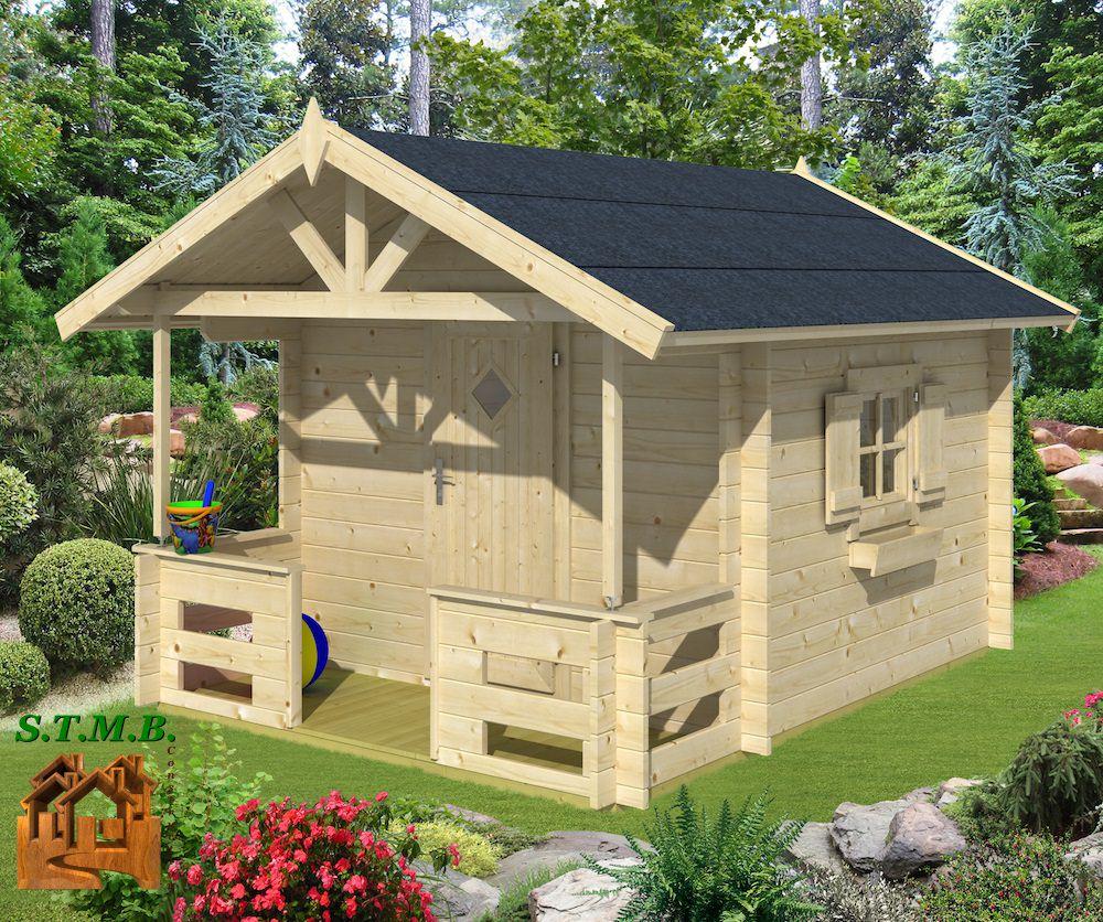 Les Cabanes En Bois Pour Les Enfants -Stmb Construction à Maison De Jardin Pour Enfants