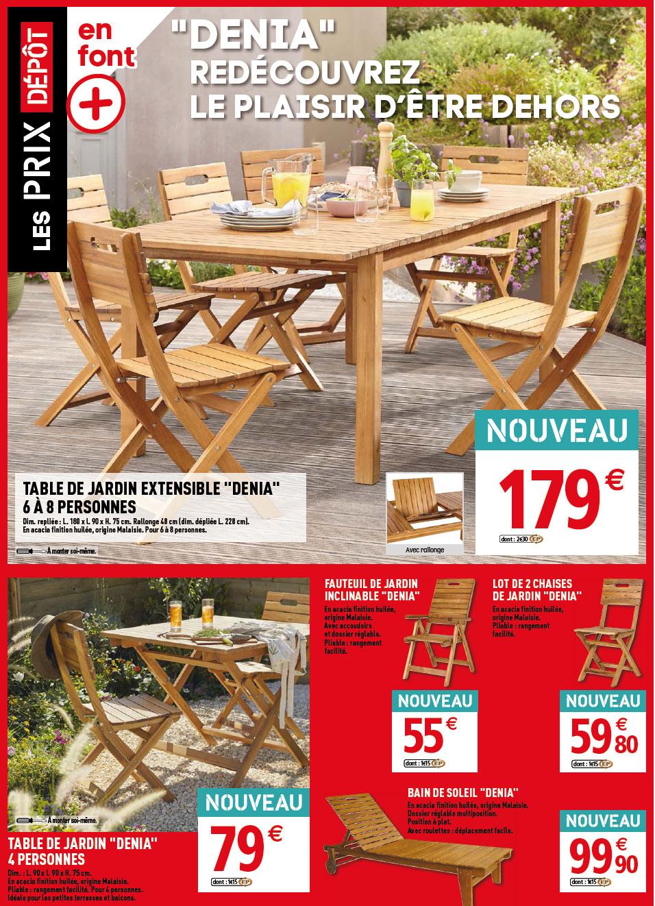 Les Catalogues Brico Dépot 2020 ⋆ Catalogues Brico Dépôt tout Table Jardin Brico Depot