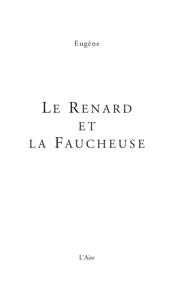 Les Editions De L'aire avec Faucheuse Jardin