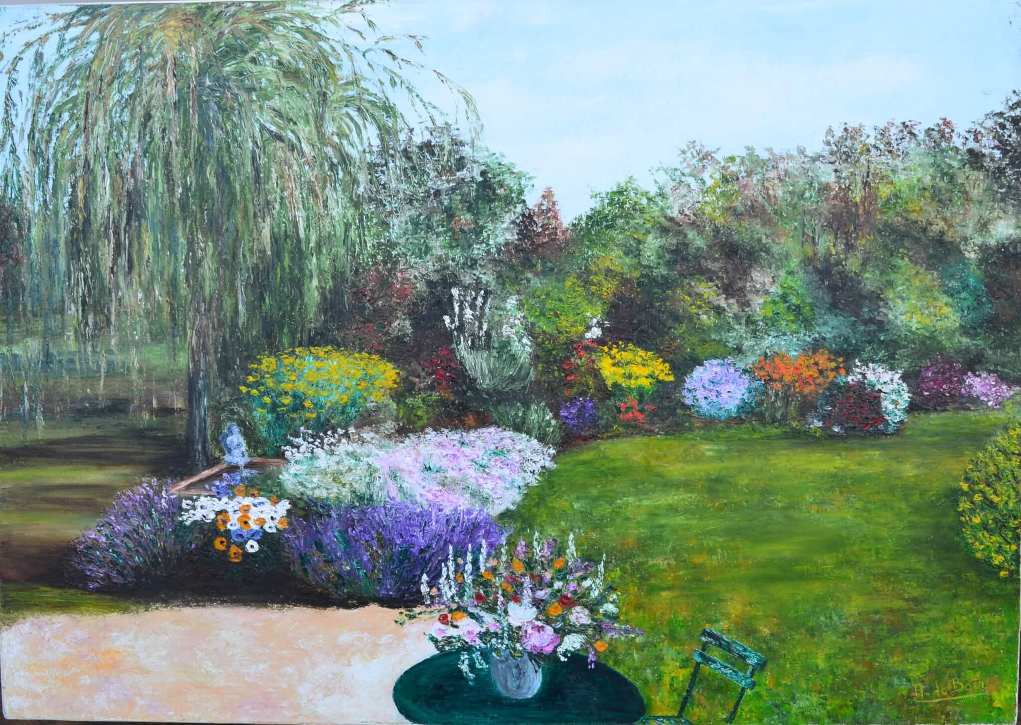 Les Jardins   Annie De Boer concernant Chassis Jardin
