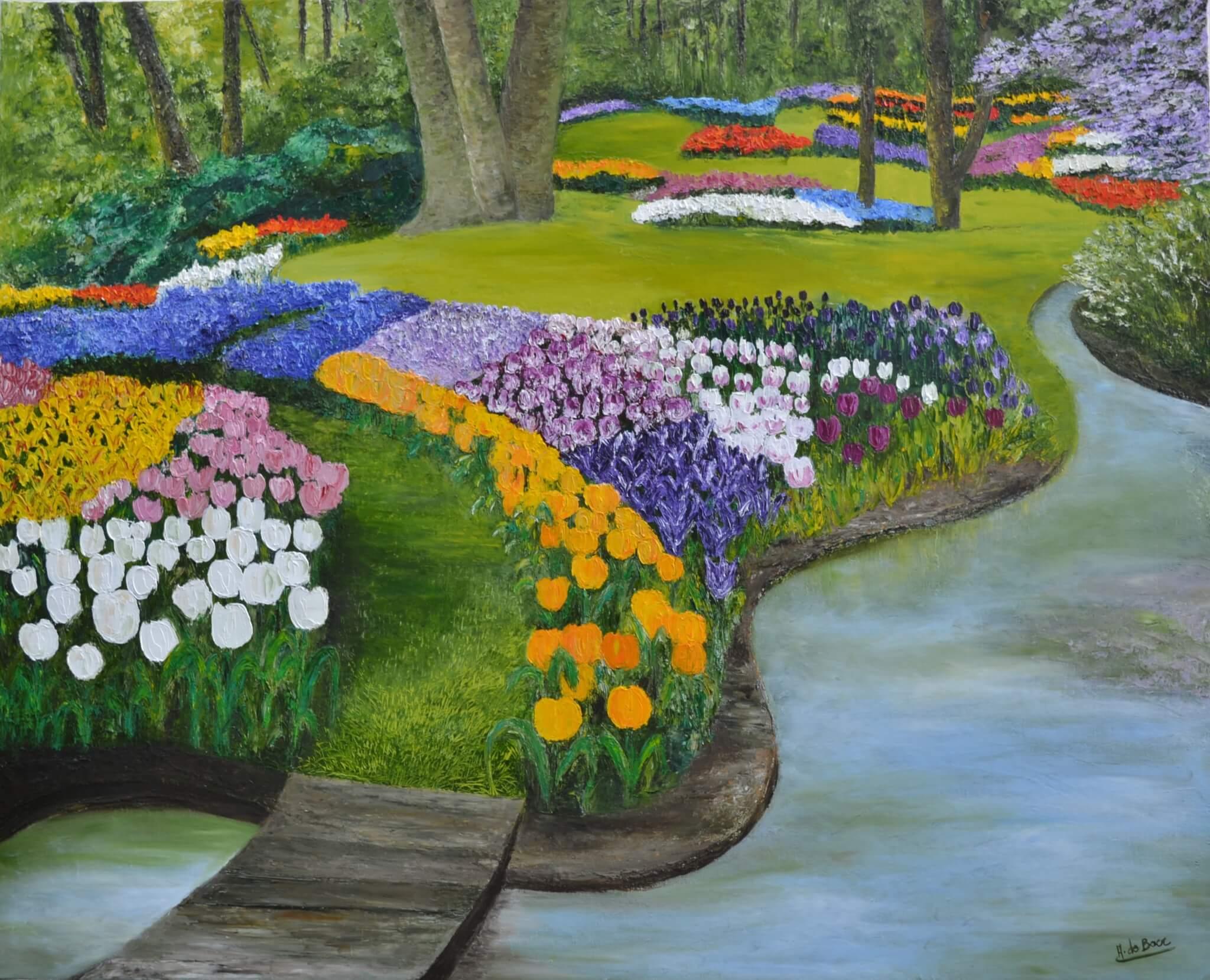 Les Jardins | Annie De Boer intérieur Chassis De Jardin