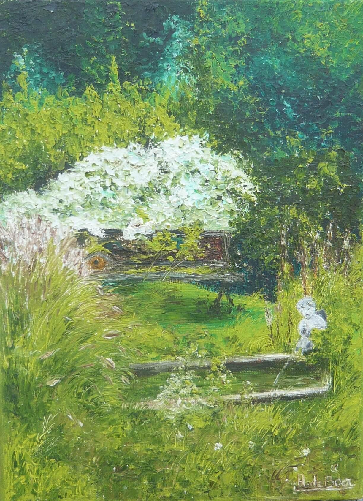 Les Jardins   Annie De Boer intérieur Chassis Jardin