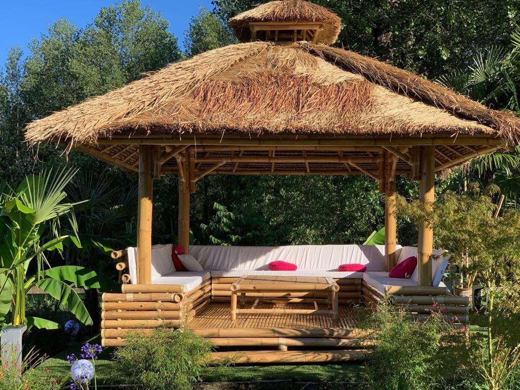 Les Jardins De Bali À Benesse-Maremne | Commerces Et Services destiné Paillote Jardin