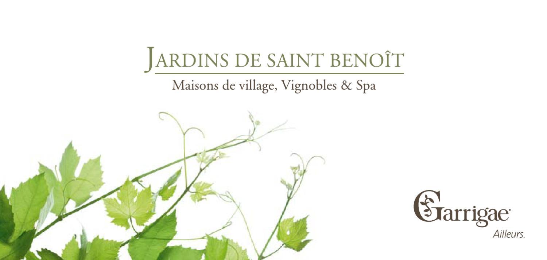 Les Jardins De Saint Benoit By Garrigae - Issuu tout Les Jardins De Saint Benoit Spa