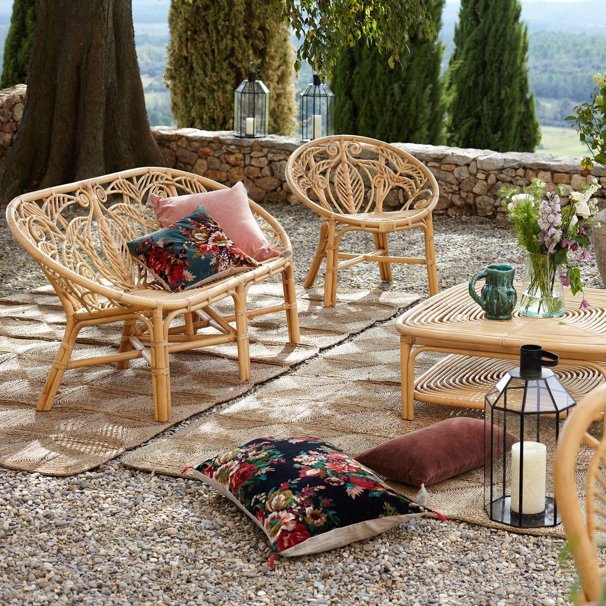 Les Nouveautés Jardin Chez La Redoute Et Am.pm | Chaise ... concernant Salon De Jardin En Osier