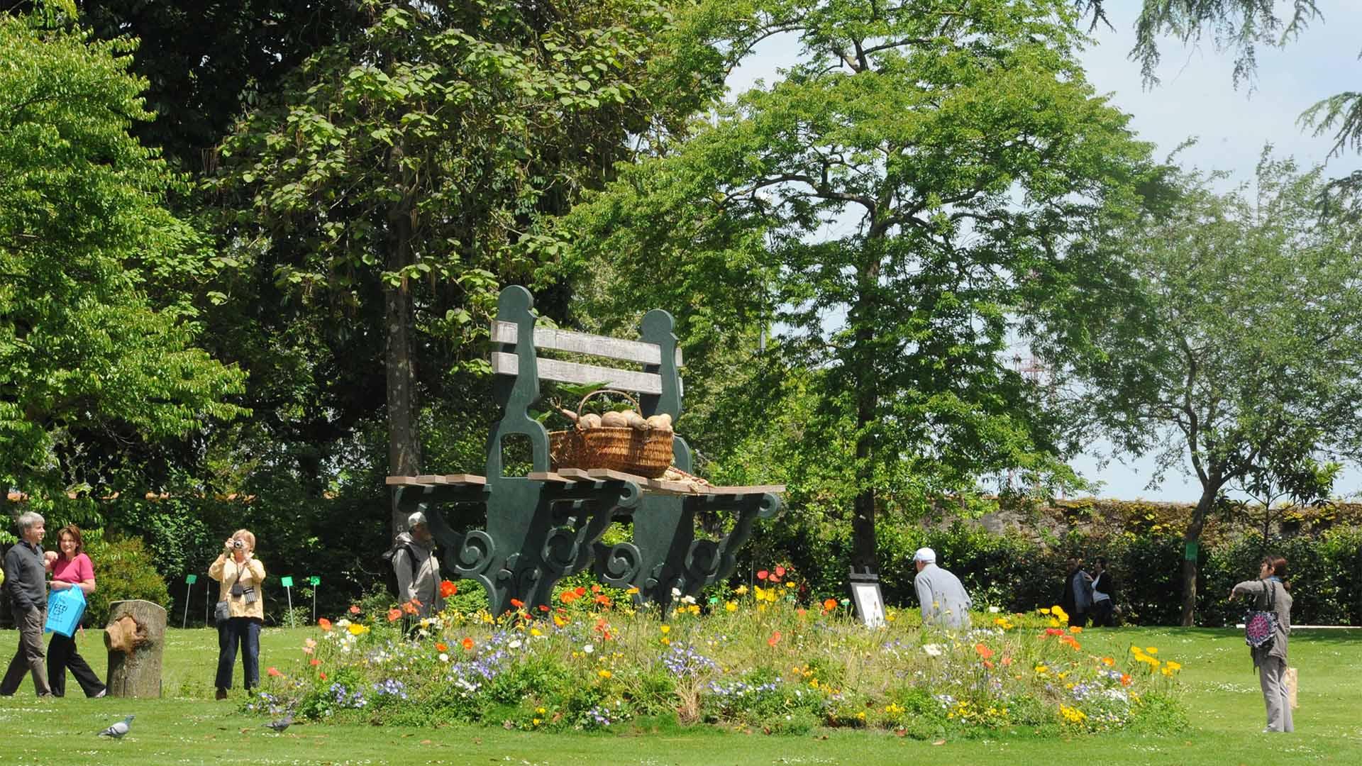 Les Parcs Et Les Jardins À Nantes avec Jardin Botanique Emploi