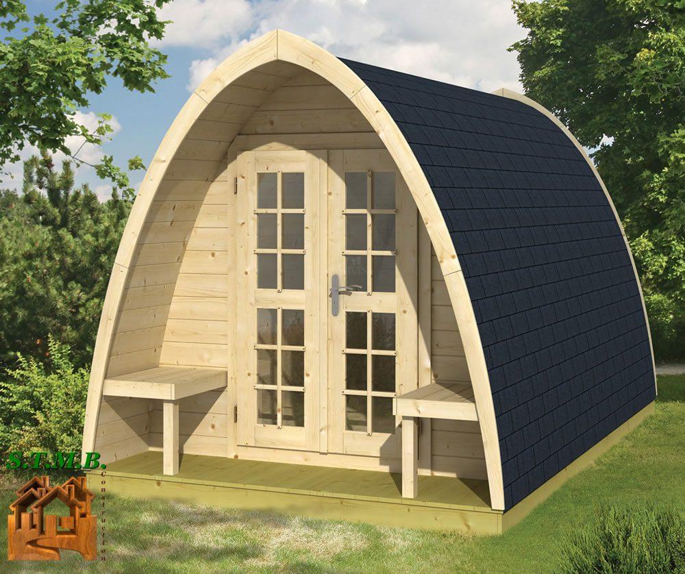 Les Pod Pour Les Hôtelleries De Plein Air - Stmb Construction dedans Abri De Jardin Isolé