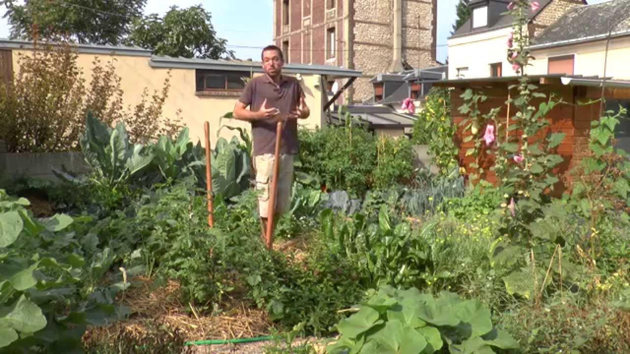 L'extraordinaire Productivité D'un Petit Potager De 50 M2 ... serapportantà Acheter Un Jardin Potager