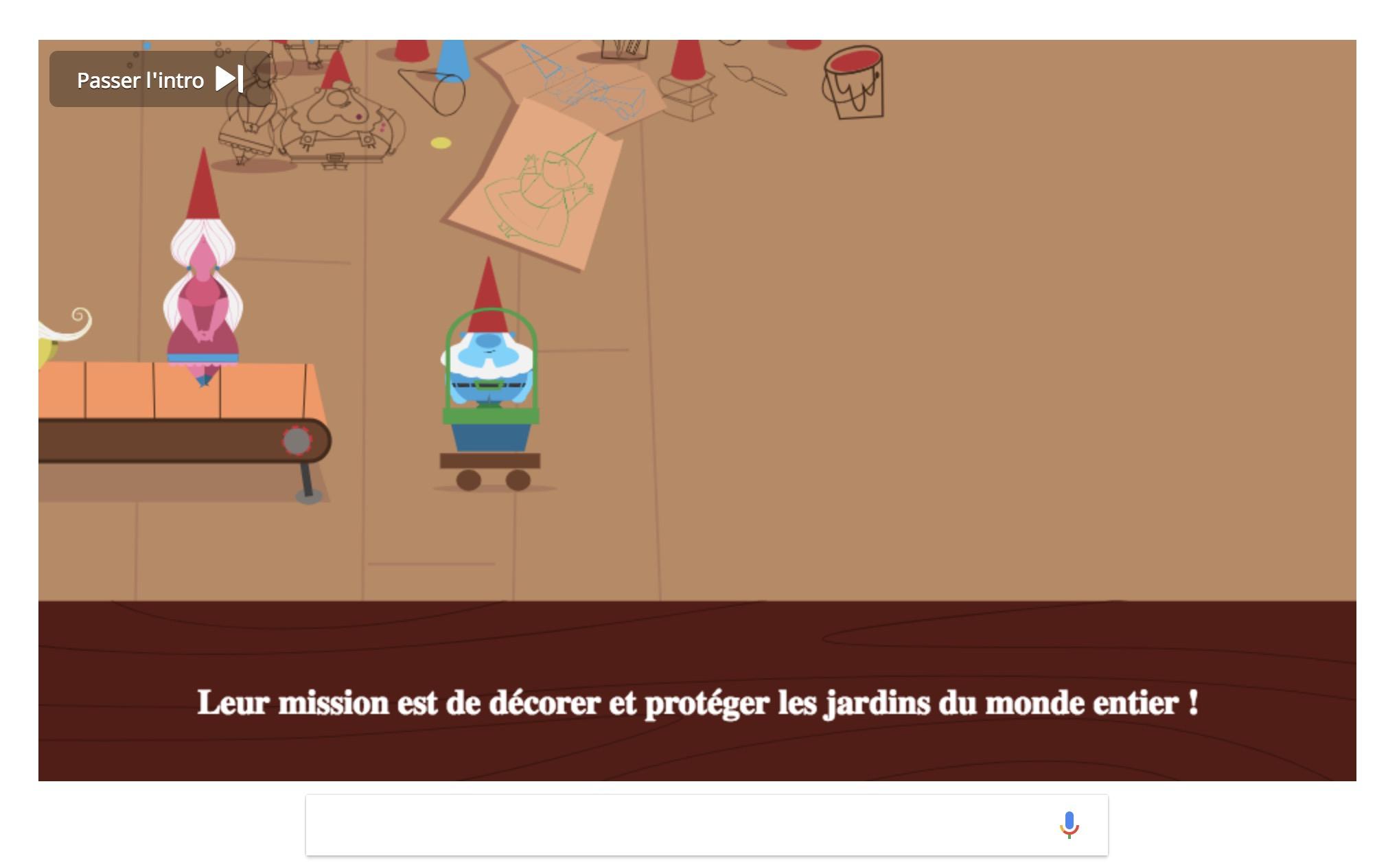 L'histoire Du Nain De Jardin En Addictif Doodle Interactif encequiconcerne Jeu De Nain De Jardin