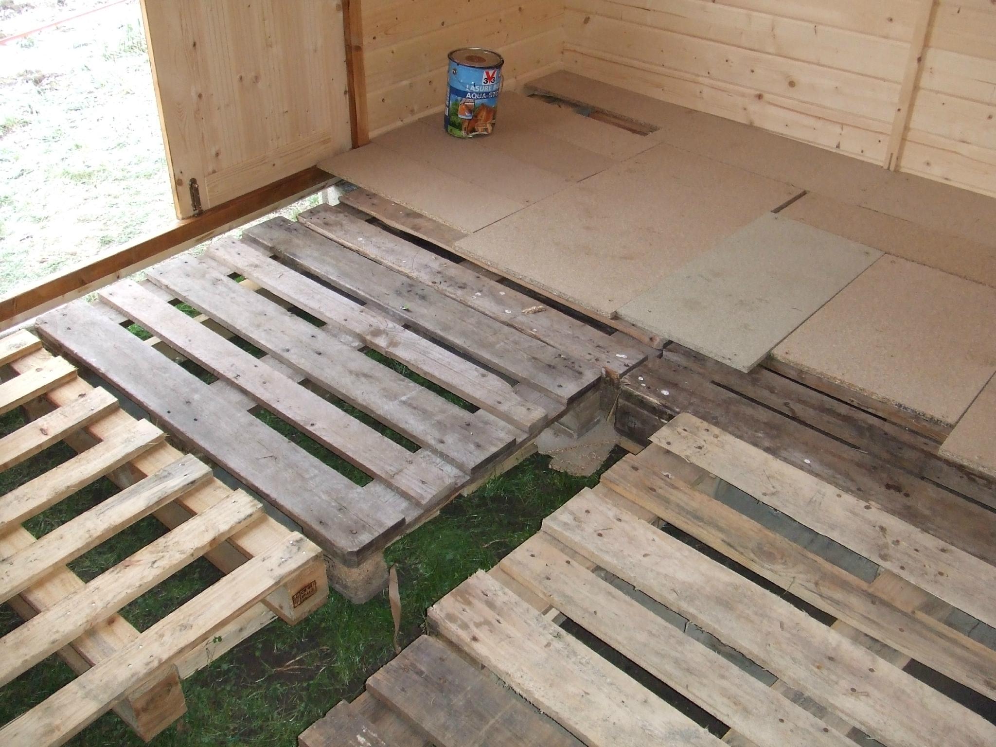 L'hiver Est Bien Là ! - Les Jardins Partagés De Saâcy concernant Faire Un Plancher Pour Abri De Jardin