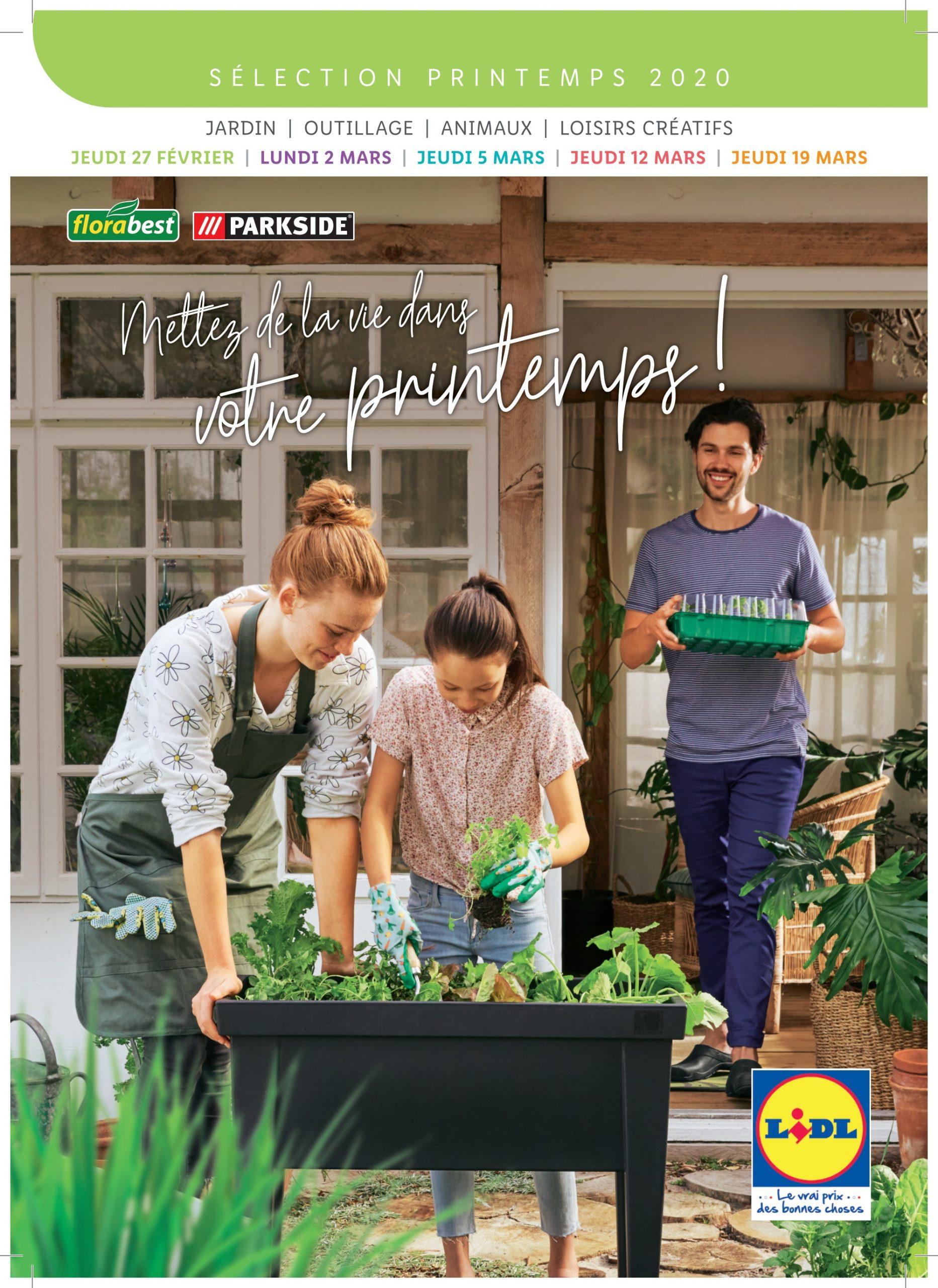 Lidl Catalogues – Articles En Promotion - 27/02/2020 - 19/03 ... destiné Serre De Jardin Florabest